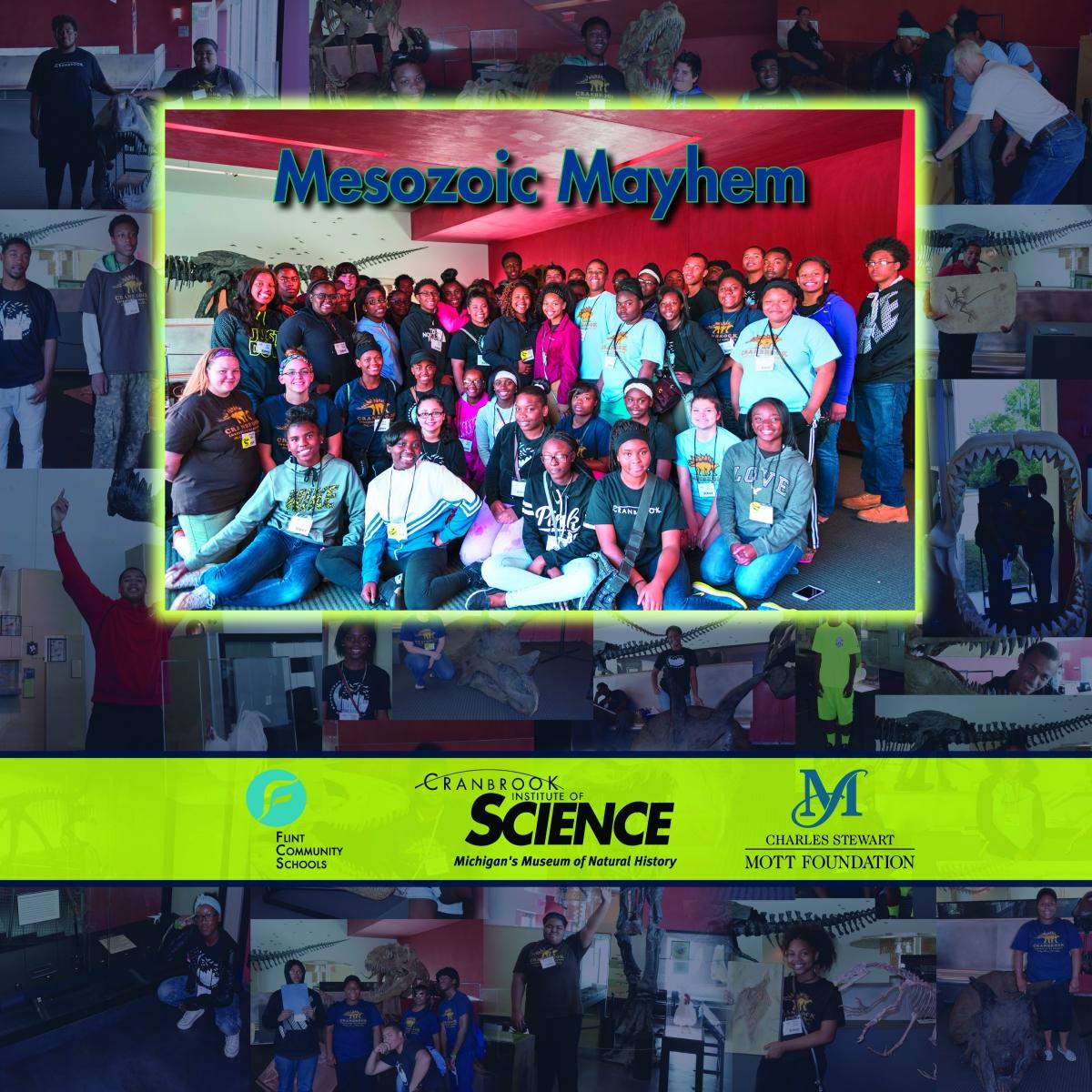 Cranbrook Institute of Science Mesozoic Mayhem Flint Community Schools Charles Stewart Mott Foundation